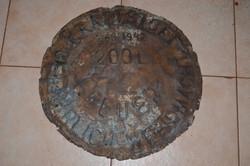 200 literes WEHRMACHT vas hordó vég 1942