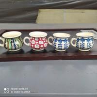 Kézzel festett Korondi pici csupor, csésze
