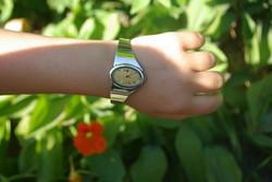 ROLEX ezüst karkötő női óra!