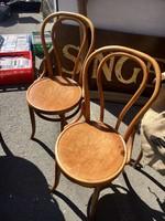 Debreceni Thonet szék,székpár,2 db,jelzett