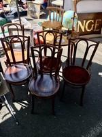 Thonet szék,székpár,4 db,garnitúra