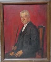 Boldizsár István (1897-1984) Portré