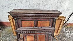 1 db. antik, ónémet, felújítandó  ágy.