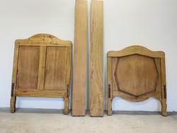 Very old oak bed frame