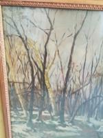 Dúl Lajos festménye  Nemzeti szalon 1927 évi tavaszi kiállítás 200 pengő