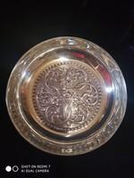 Antik ezüst 925-ös holland fémjelzésű kináló tál (180,4gr.) /1921/