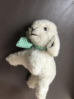 Bárányka valódi báránybőrből, kedves bari