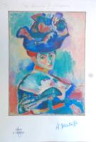 Henri Matisse- Nő kalapban - árfelező leárazáskor nincs!