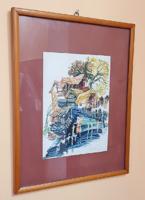 Fassel Lousa Ferenc gyönyörű festménye