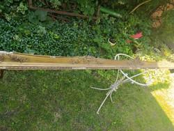 Antik hosszú aranyozott karnis
