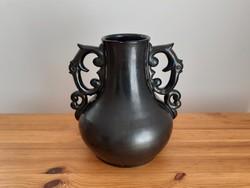Nagyméretű Badár Balázs kerámia váza 1937-ből