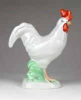 1F797 Kézzel festett Herendi porcelán kakas figura 13.7 cm