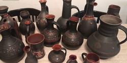 Grúz iparművész vázák