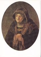 Képeslap / Rembrandt Harmenszoon van Rijn / festménye