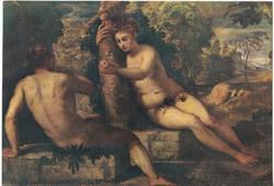 Képeslap / Jacopo Tintoretto / festménye