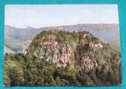 Németország,  Berg Oybin ,használt képeslap