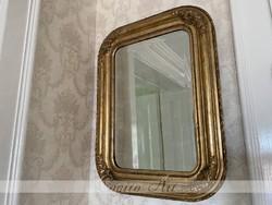 Antik Biedermeier tükör 61x46cm