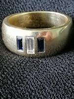 14 karátos arany gyűrű gyémánttal