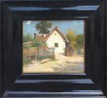 Zorkoczy Gyula (1873 - 1932 ) : Falusi házak