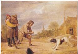 Képeslap / David Teniers / festménye