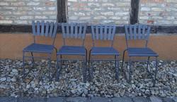 Retro csővázas kerti székek