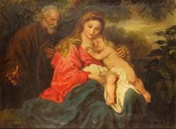 """Brenner Nándor, Vydai : """"Szent család"""""""