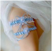 Esküvői, menyasszonyi harisnyakötő szett ES-HK25-2k
