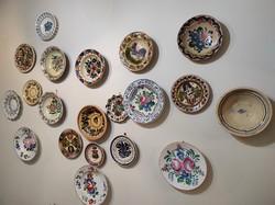 Wall plates / decorative plates - 20 pcs