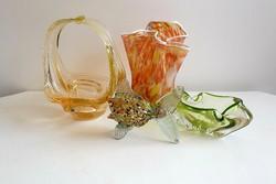 Muránoi üveg díszek