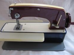 Retro Podolszk fém játék varrógép