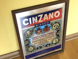 Tükör Ital Reklám / Retro Cinzano