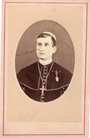 Bonnaz Sándor csanádi püspök Vaskorona (3 osztály ?) korai viselési darab