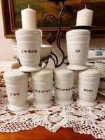 Drasche porcelán fűszertartók