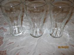 3 Coca cola pohár