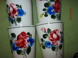4 db Lilien Alpenflora pohár