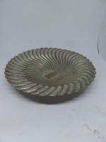 Magyar ezüst art deco kínáló Diana fejes fémjellel