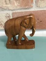 Fa elefánt szobor