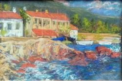 Poll Hugo (1867-1931) beach