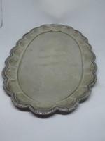 1 darab art deco ezüst tálca