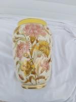 Zsolnay family sealed vase. 1878-80