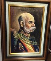 Ferenc József portré