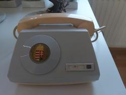 Ritka retro parlamenti telefon,magyar címerrel!