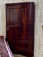 Biedermeier alacsony sarokszekrény 118cm