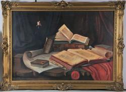 Lakos Alfréd (1870-1961) Csendélet, 1939