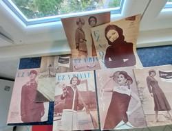 Régi újságok Ez a divat és egyéb az 1960 től 1970 évek  elejéig