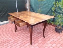 Antik Barokk asztal !!!     3 fiokos!!!