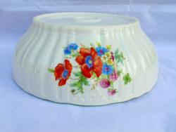 Zsolnay poppy garnish, patty bowl