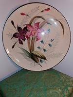 Large decorative plate on the wall
