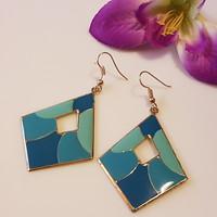 Party earrings 4 cm.
