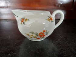 Zsolnay porcelain spout with shield seal